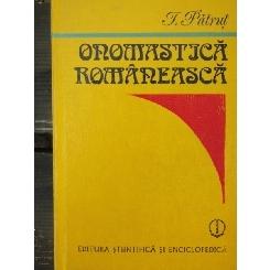 ONOMASTICA ROMANEASCA - I. PATRUT