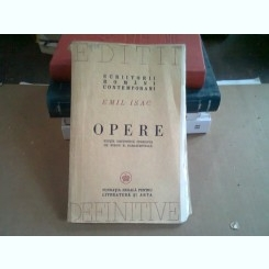 OPERE - EMIL ISAC