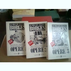 OPERE - JORGE LUIS BORGES   (OPERE1, 2 SI 3)