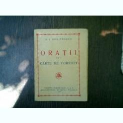 Oratii sau carte de vornicit - N. I. Dumitrascu