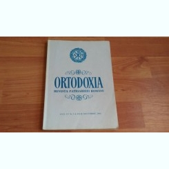 ORTODOXIA  -REVISTA PATRIARHIEI ROMANE-PROF. DR. NICOLAE V. DURA SI ALTII