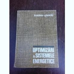 Otimizari sistemele energetice - Th. Miclescu