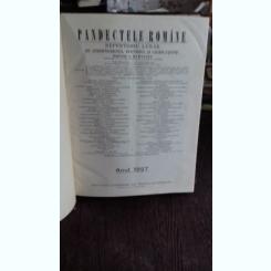 PANDECTELE ROMANE - 1927 - C. HAMANGIU