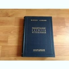 PARAZITOLOGIE CLINICA VETERINARA-GH. DINULESCU- AL. NICULESCU