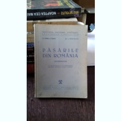 PASARILE DIN ROMANIA - GEORGE V. VASILIU