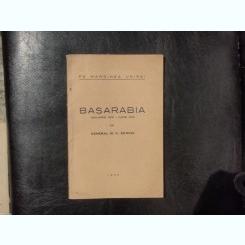 Pe marginea unirei Basarabia ianuarie 1918 - iunie 1919 - M. C. Schina