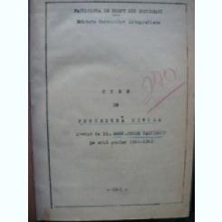Petre Vasilescu - Curs de Procedura Civila - 1941