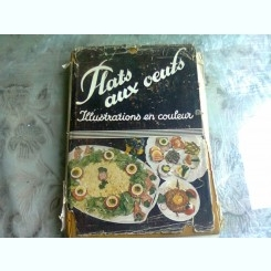 PLATS AUX OEUF -  F. NIETLISPACH  (CARTE IN LIMBA FRANCEZA)