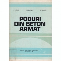 PODURI DIN BETON ARMAT - P.I. RADU