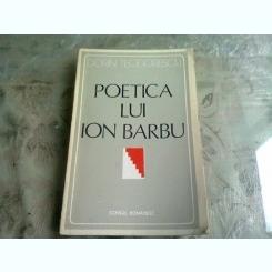 POETICA LUI ION BARBU - DORIN TEODORESCU