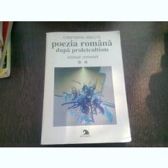 POEZIA ROMANA DUPA PROLET CULTISM - CONSTANTIN ABALUTA  VOL.II