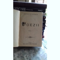 POEZII - DIMITRIE BOLINTINEANU  VOL.1