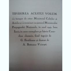 Poezii M.Eminescu, Editie ingrijita de G.Ibraileanu, ilustratii de A. Bratescu Voinesti