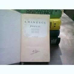 Poezii  - MIHAI EMINESCU-EDITIE BIBLIOFILA, ingrijita de Perpessicius