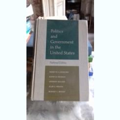 POLITICS AND GOVERNMENT IN THE UNITED STATES - EMMETTE S. REDFORD  (POLITICI SI GUVERNARE IN STATELE UNITE)