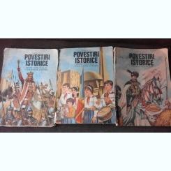 POVESTIRI ISTORICE - DUMITRU ALMAS   3 VOLUME