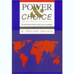 POWER CHOICE - W. PHILLIPS SHIVELY  (CARTE IN LIMBA ENGLEZA)