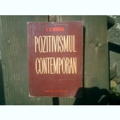 Pozitivism contemporan - I. S. Narski