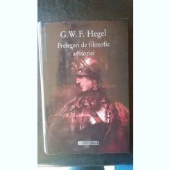 Prelegeri de filozofie a istoriei,G.W.F. Hegel