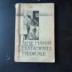 PRIMELE MASURI SI TRATAMENTE MEDICALE SPRE PREVENIREA SI COMBATEREA BOLILOR