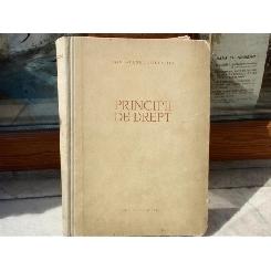 Principii de drept , 1959