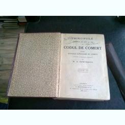 PRINCIPIILE CUPRINSE IN ART. 1 - 489 DIN CODUL DE COMERT - M.A. DUMITRESCU