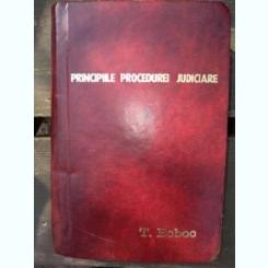 PRINCIPIILE PROCEDURII JUDICIARE - EUGEN HEROVANU  vol 1 si 2
