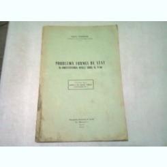 PROBLEMA FORMEI DE STAT IN CONSTITUTIUNEA REGELE CAROL AL II-LEA - ERAST TARANGUL