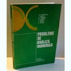 PROBLEME DE ANALIZA NUMERICA DE GH . MARINESCU .... C. STEFAN , 1978