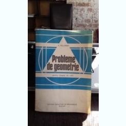 PROBLEME DE GEOMETRIE PENTRU CLASELE VI-VIII - A. HOLLINGER