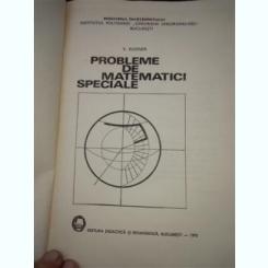 Probleme de Matematici Speciale - Rudner