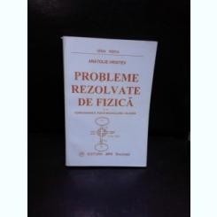 PROBLEME REZOLVATE DE FIZICA, TERMODINAMICA, FIZICA MOLECULARA, CALDURA - ANATOLIE HRISTEV