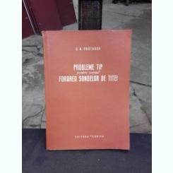 PROBLEME TIP PENTRU CURSUL FORAREA SONDELOR DE TITEI - G.N. PROTASOV