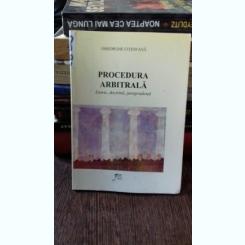 PROCEDURA ARBITRALA - GHEORGHE COTOFANA