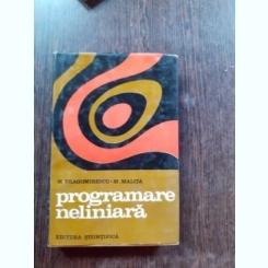 PROGRAMARE NELINIARA - M. DRAGOMIRESCU, M. MALITA