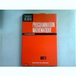 PROGRAMMATION MATHEMATIQUE - V. KARAMANOV  (PROGRAMARE MATEMATICA)
