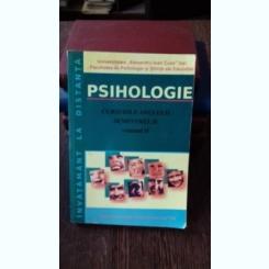 PSIHOLOGIE. CURSURILE ANULUI II. SEMESTRUL II. VOL.2 - CORNEL HAVARNEANU