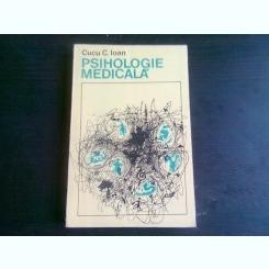 PSIHOLOGIE MEDICALA - CUCU C. IOAN