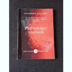 PSIHOLOGIE SOCIALA - NICOLAE RADU SI ALTII