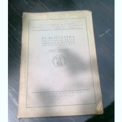 PUBLICITATEA DREPTURILOR REALE IMOBILIARE SI REGISTRELE DE PROPRIETATE - ANDREI RADULESCU