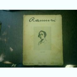 Ramuri - Drum drept revista literara anul XXII nr. 10 noembrie 1928 - C. S. Fagetel