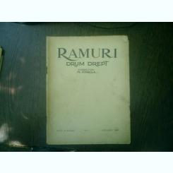 Ramuri - Drum drept revista literara saptamanala anul XIX nr. N-1 1 1 ianuarie 1925 - N. Iorga