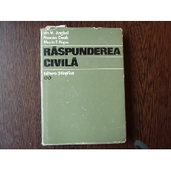 Raspunderea Civila , Dr . Ion M. Anghel , 1970