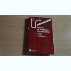 RECUEIL DE PROBLEMES D'OPTIMISATION-V.ALEXEEV SI ALTII