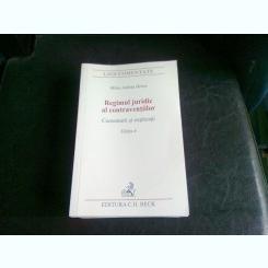 REGIMUL JURIDIC AL CONTRAVENTIILOR - MIHAI ADRIAN HOTCA