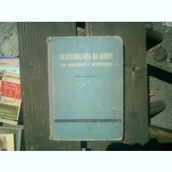 Regularizari de riuri si cai navigabile interioare - Ion A. Manoliu