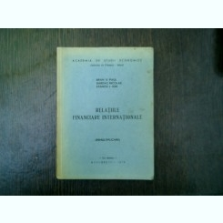 Relatiile financiare internationale - Bran V. Paul, Dardac Nicolae, Stancu I. Ion