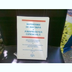 REPERTORIU DE DOCTRINA SI JURISPRUDENTA COMERCIALA