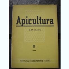 REVISTA APICULTURA NR. 11/1958   CAIET SELECTIV