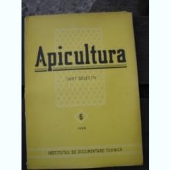 REVISTA APICULTURA NR. 6/1958   CAIET SELECTIV